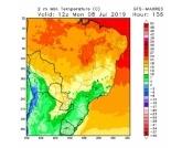 Onda de frio chega em áreas produtoras brasileiras